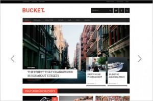 News Magazine WordPress Themes - BUCKET