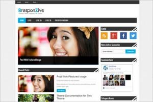 Best News Magazine WordPress Themes - BresponZive