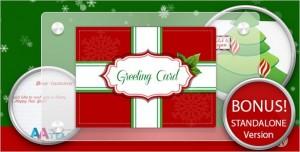 Business Christmas Greeting Card WordPress Plugin