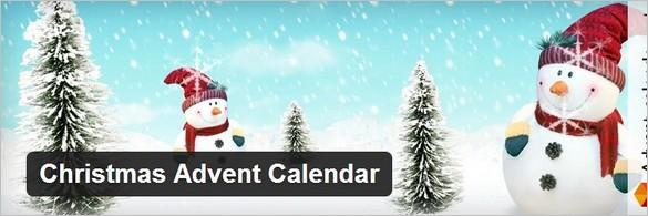 Christmas Advent Calendar WordPress Plugin