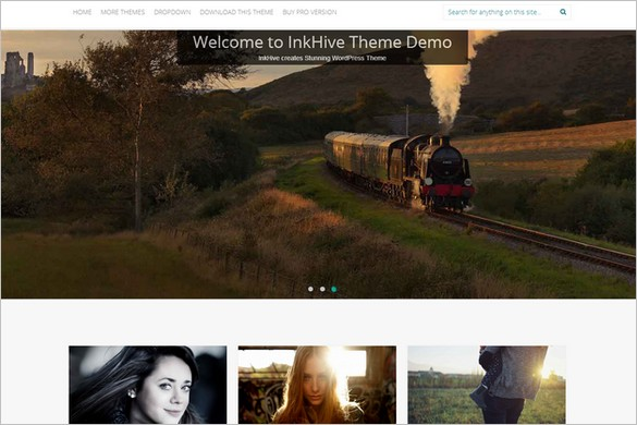 New Free WordPress Themes - Inkness