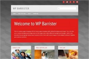 New Free WordPress Themes - WP Barrister