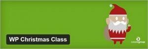 WP Christmas Class WordPress Plugin