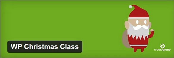 WP Christmas Class WordPress Plugin