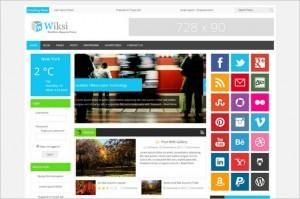 News Magazine WordPress Themes - Wiksi