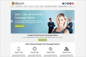 Elisium Free WordPress Theme