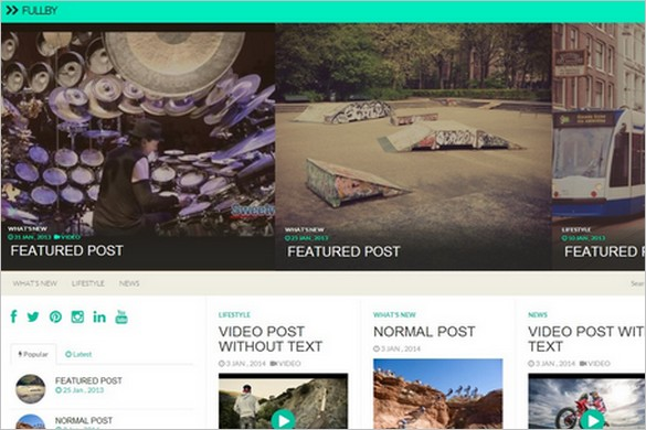 Best Free WordPress Themes - January 2014 Edition
