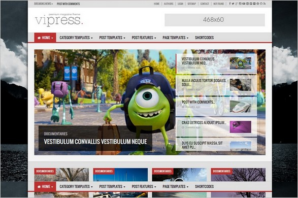 10 New WordPress Themes for Magazines and News Sites - WP Daily Themes