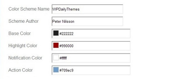 Create Your Own Custom Admin Color Schemes in WordPress - WP