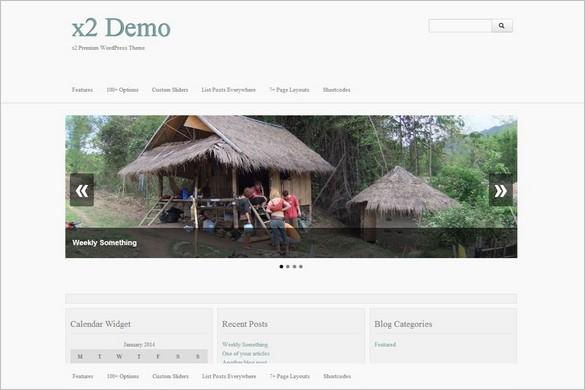 Free WordPress Themes - x2