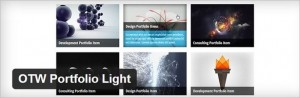 OTW Portfolio Light Free WordPress Plugin