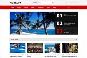 Novelty - A Magazine WordPress Theme by TeslaThemes