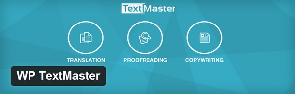 TextMaster WordPress Plugin