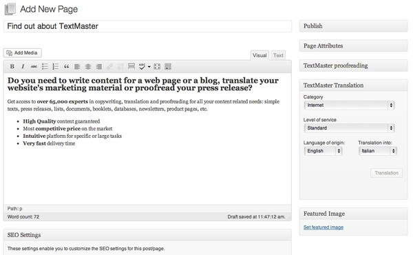 Reaching a Global Audience with the TextMaster Plugin