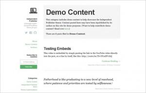 Free Content Focused WordPress Themes
