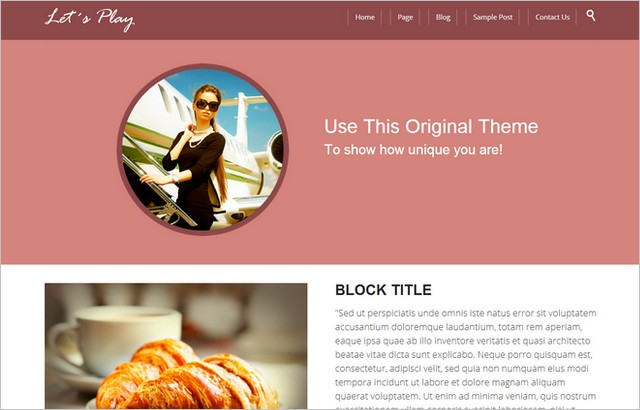 Free WordPress Theme Releases from Themes4all