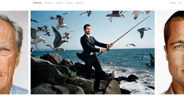 Portra - A Free WordPress Theme with Horizontal Layout