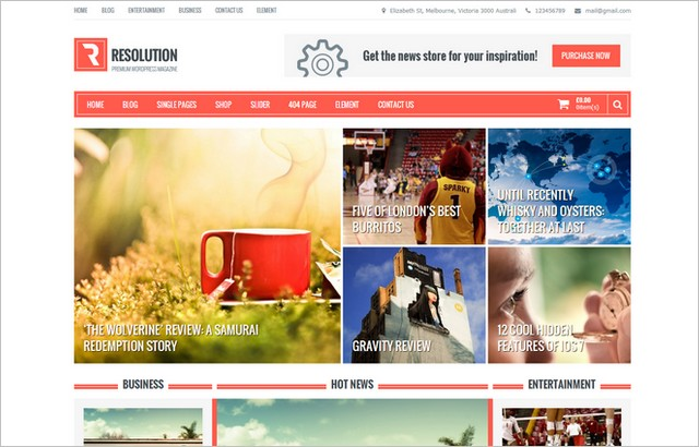 Top 10 New Free WordPress Themes April 2014 Edition - WP Daily Themes