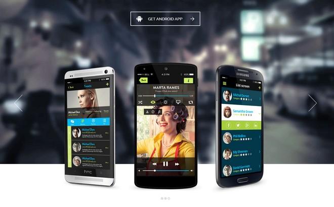 Tapptastic - A Fantastic App WordPress Theme