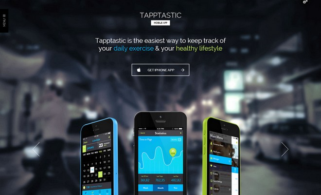 Tapptastic - A Fantastic App WordPress Theme