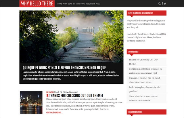 Just Released, Free and FreshWordPress Themes