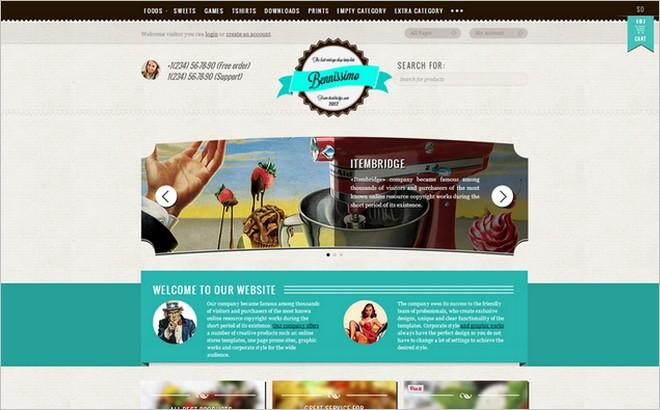 WordPress Themes With Elegant Vintage and Retro Design