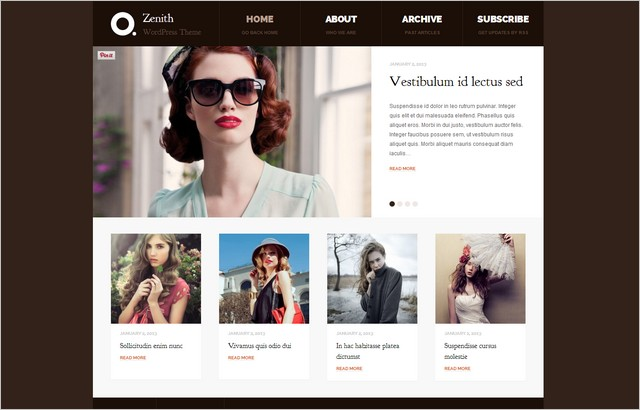 Excellent Collection of Free WordPress Themes