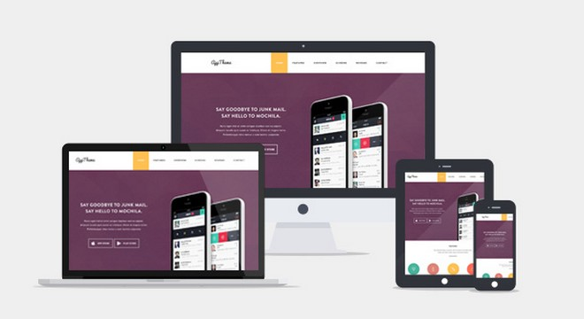 AppTheme Perfect for Promoting Apps and Products