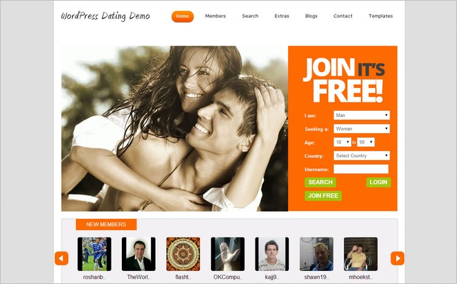 dating plugin wordpress free