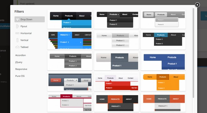 Build Beautiful Navigations with MenuMaker WordPress Plugin