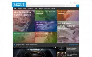 Rexus - A New Magazine Theme from Theme Junkie