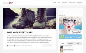 BlogIT - A WordPress Blog Theme for Bloggers