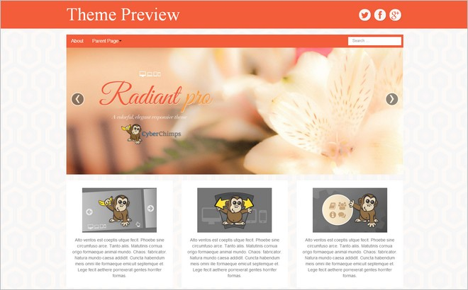 Free WordPress Themes Based on Bootstrap