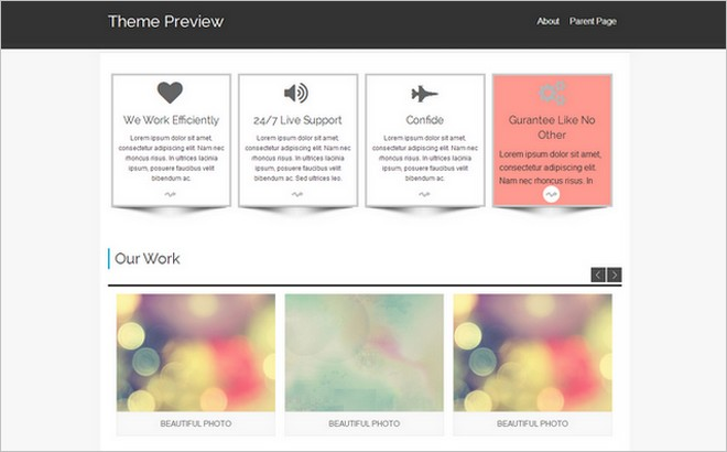 New Child Themes In The WordPress Themes Directory