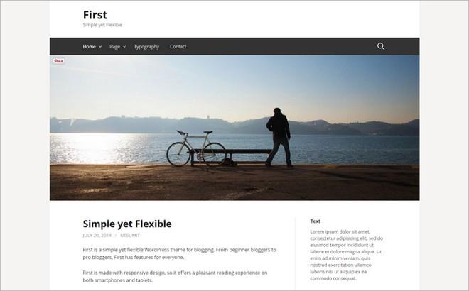 Top 10 New Free WordPress Themes September 2014 Edition