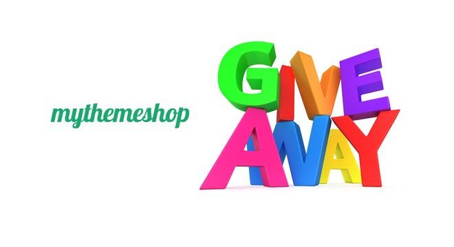 Giveaway – 5 Premium WordPress Themes from MyThemeShop