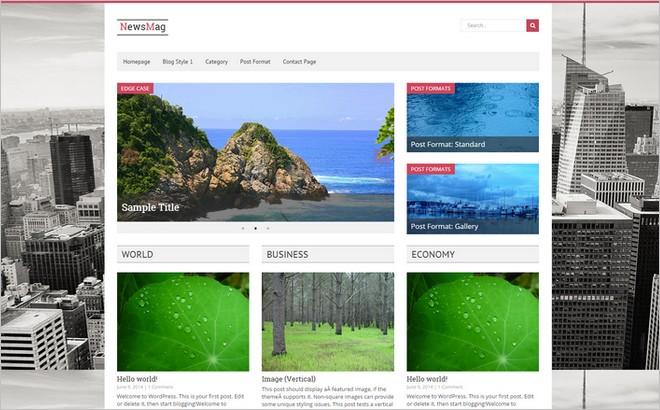 5 New WordPress Themes for Magazine & News Websites