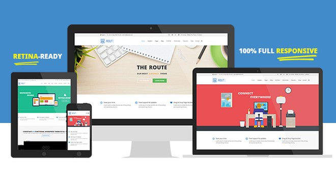 Route - A Minimal Multi-Purpose WordPress Theme