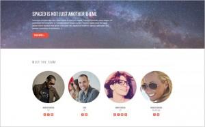 Space9 - A Next Generation WordPress Theme