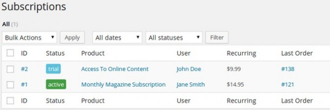Designing a Subscription Business Model with Subscriptio
