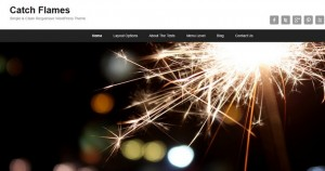 Catch Flames - A New Free WordPress Theme from Catch Themes