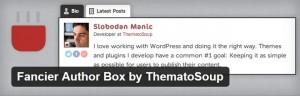Free WordPress Author Bio Box Plugins