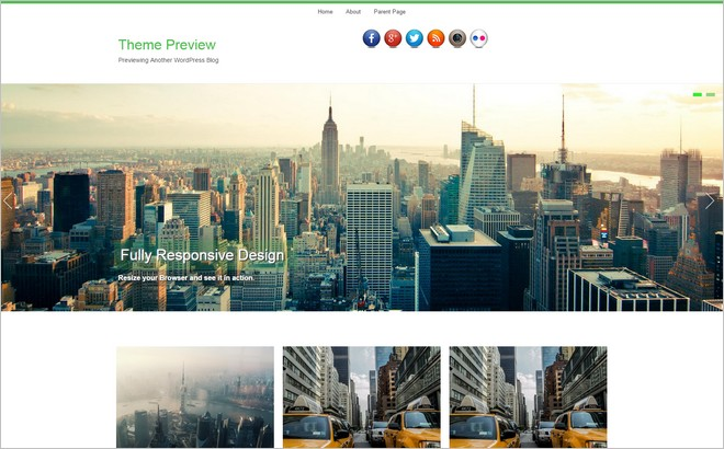 New Free Themes In The WordPress Themes Directory