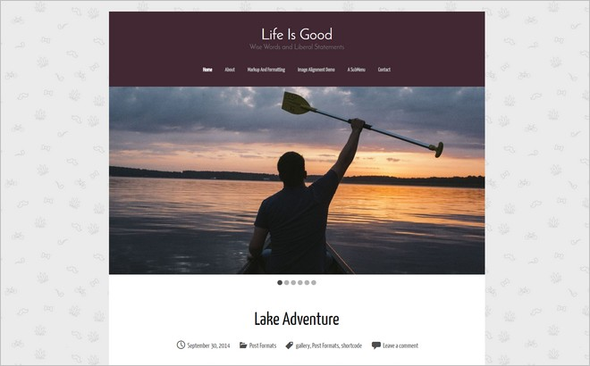 Top 10 New Free WordPress Themes November 2014 Edition