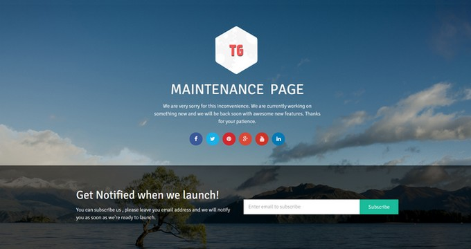 Create a Free Coming Soon Page with The WordPress Maintenance Page Plugin