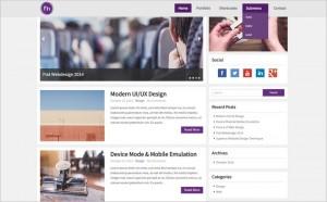 Top 10 New Free WordPress Themes November 2014 Edition