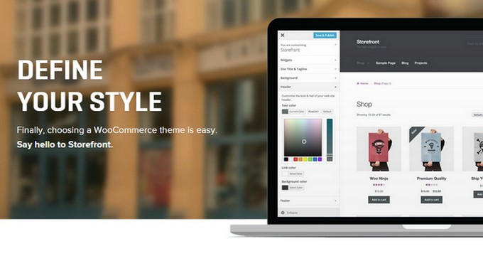 Storefront - A New Free WordPress Theme by WooThemes