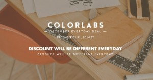 ColorLabs Offers Everyday Deal Throughout December