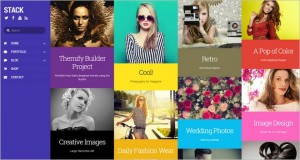 Stack - A New WordPress Theme with Metro Design from Themify