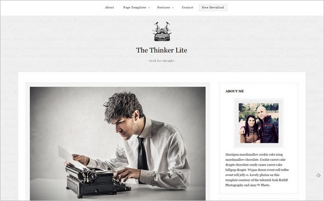 New Eye-catching Free WordPress Themes